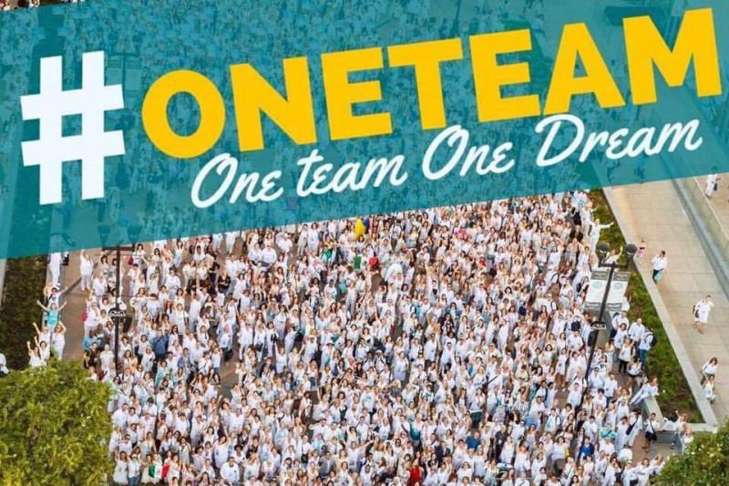 hashtag one team one dream