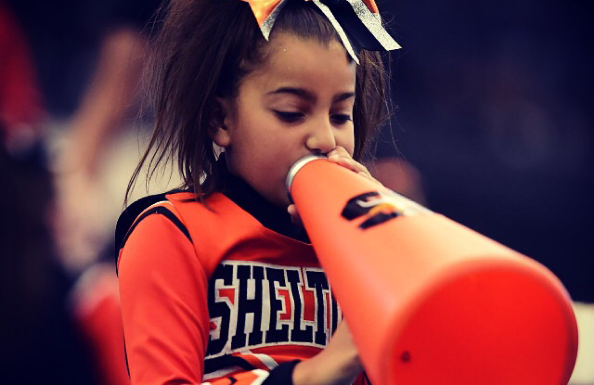 young cheerleader