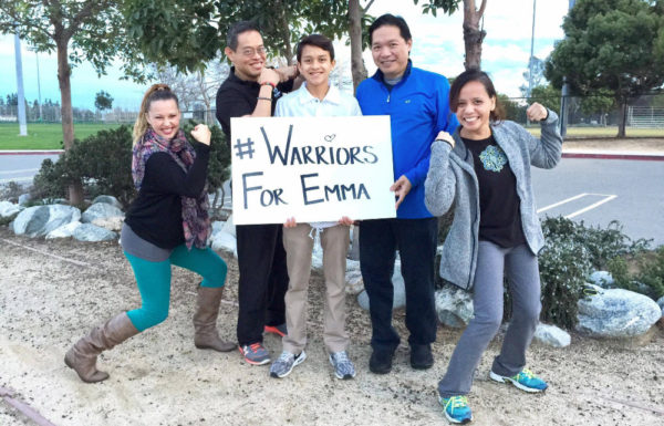 hashtag warriors for Emma