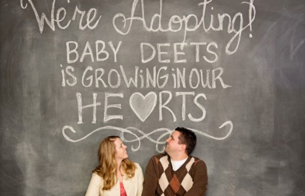 couple adopting