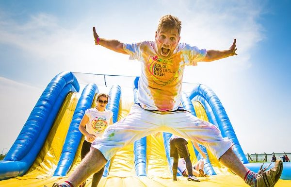 color run obstacle course
