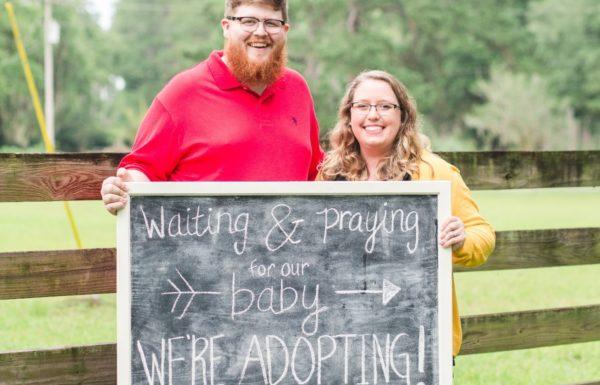 new family adoption photo