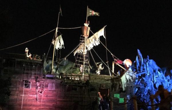 A haunted ship exhibit.