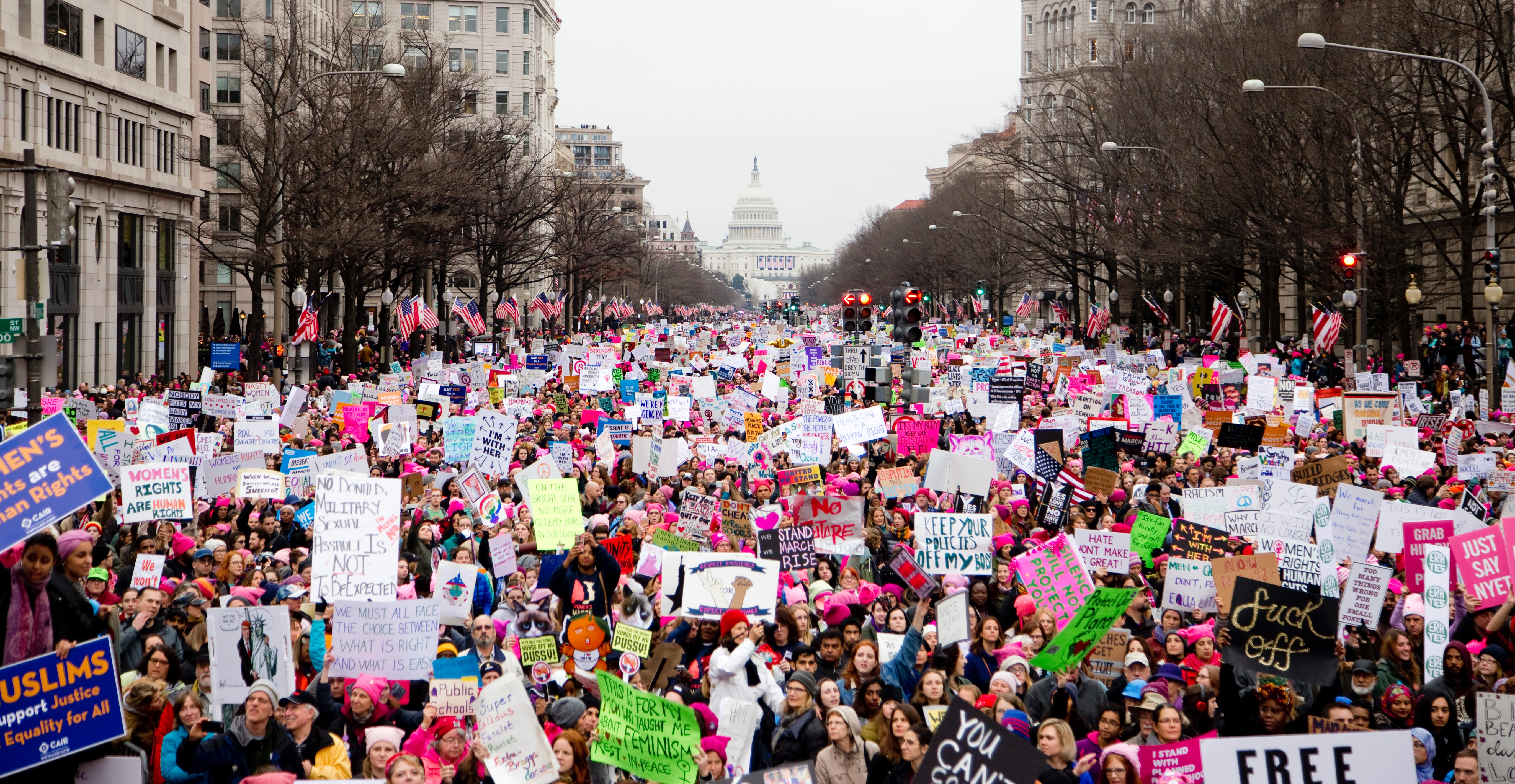 march for women's rights