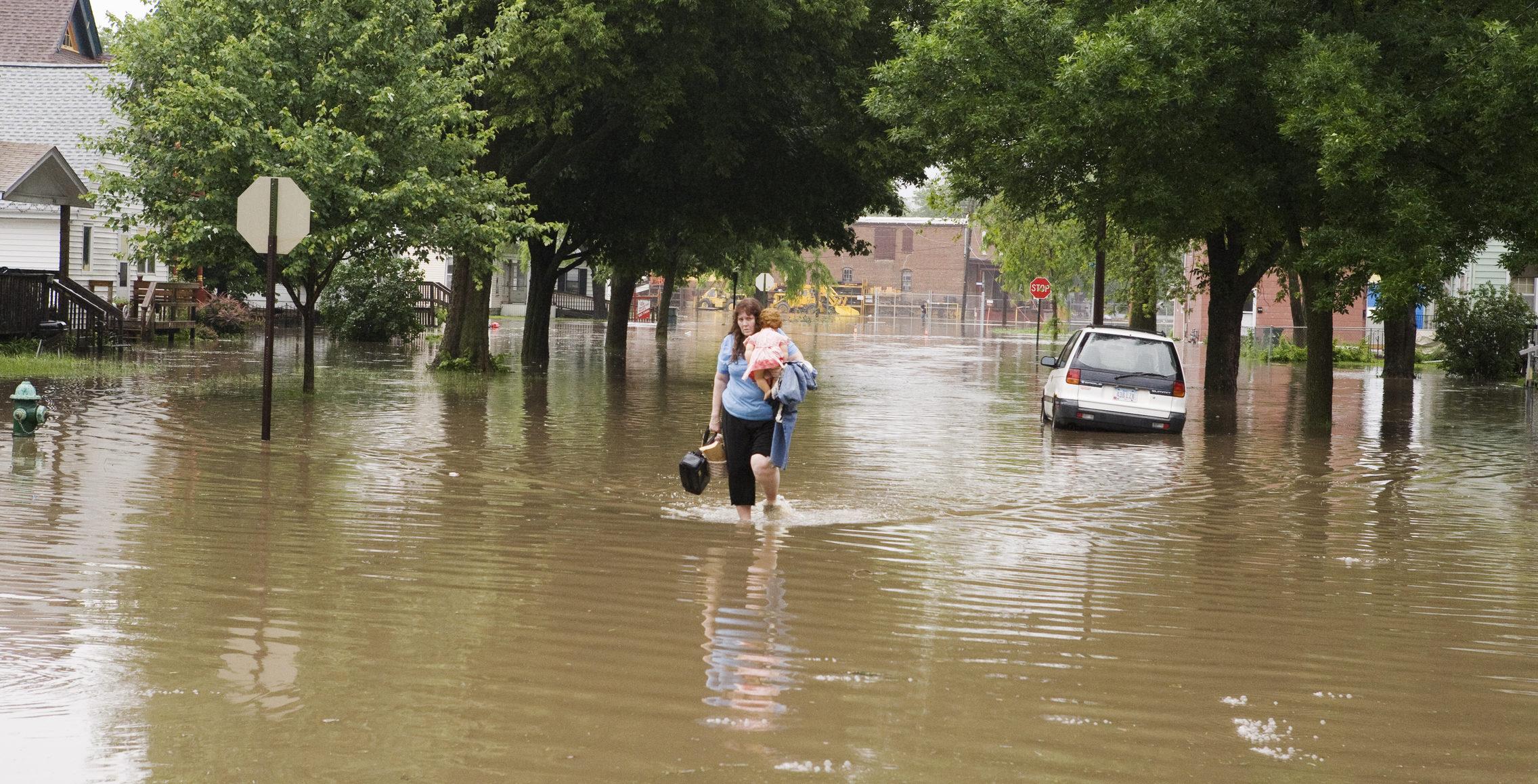 Midwest Flood Victim