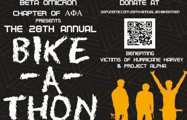 bike-a-thon poster