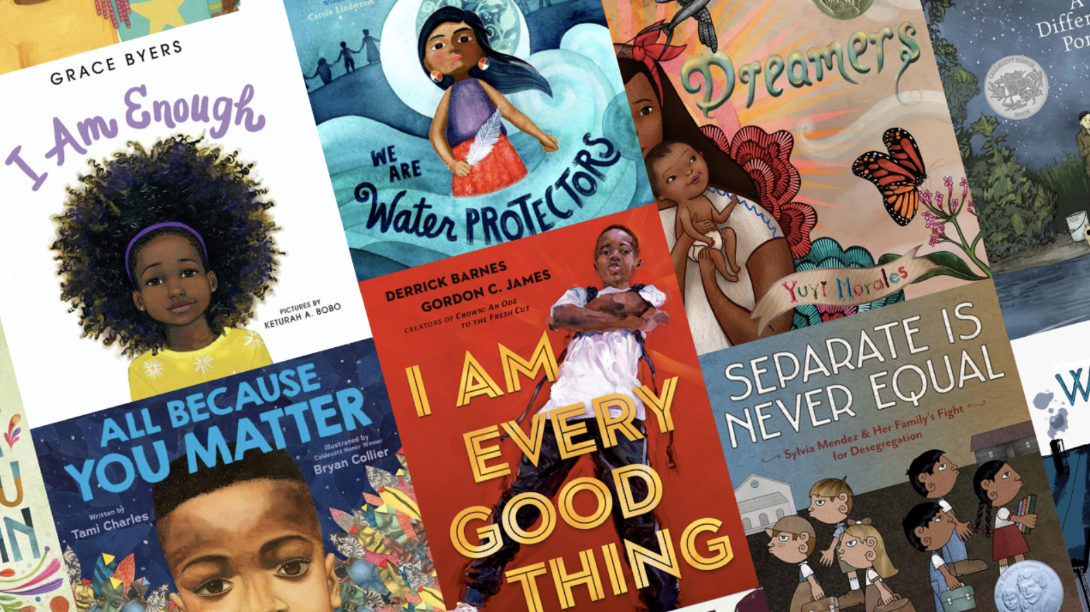 Children's books with strong black heroes