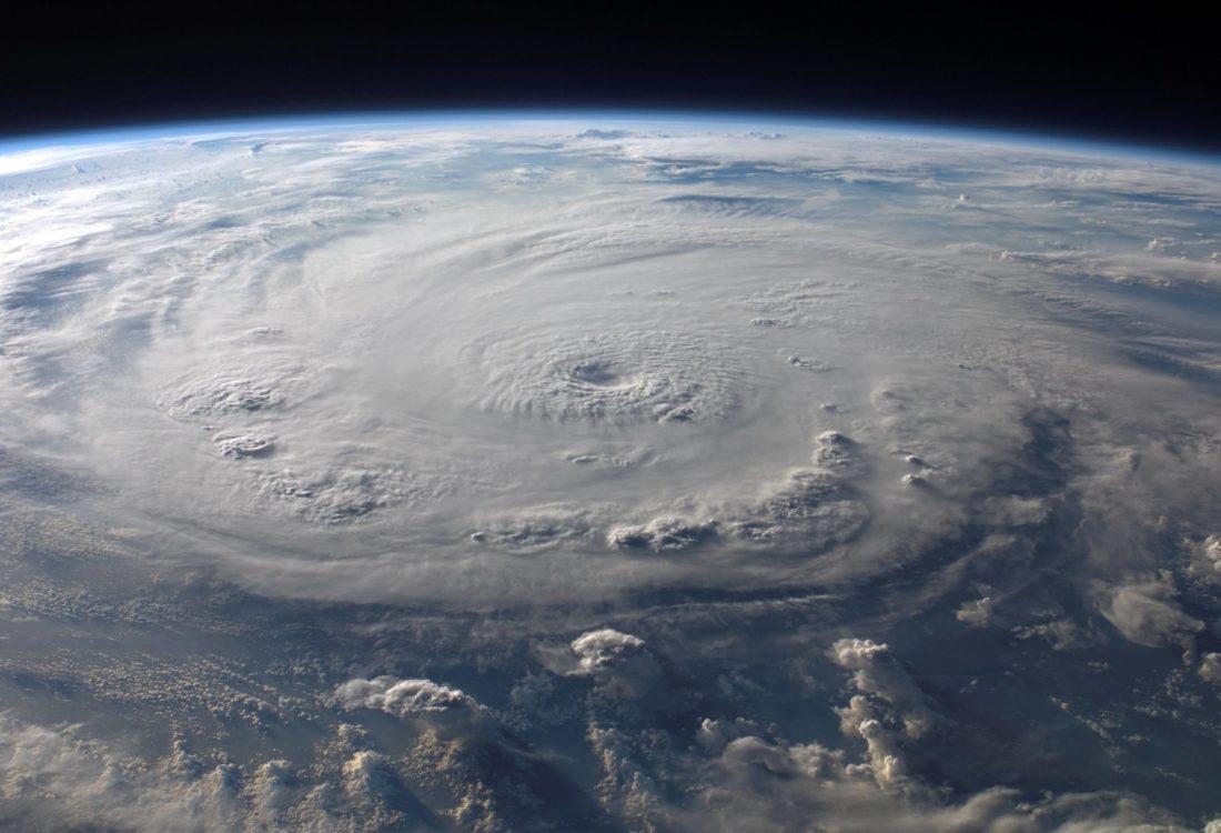 Satellite image of Hurricane Florence