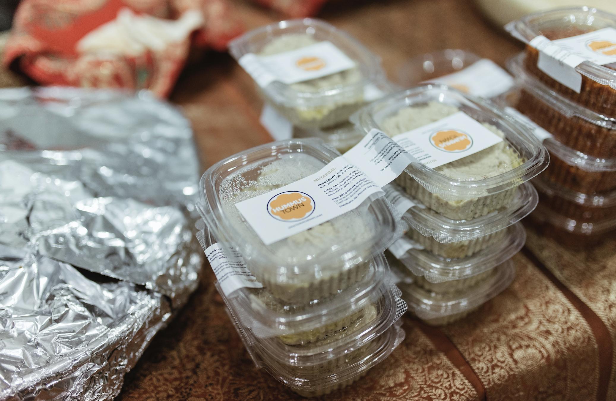 hummus in packages