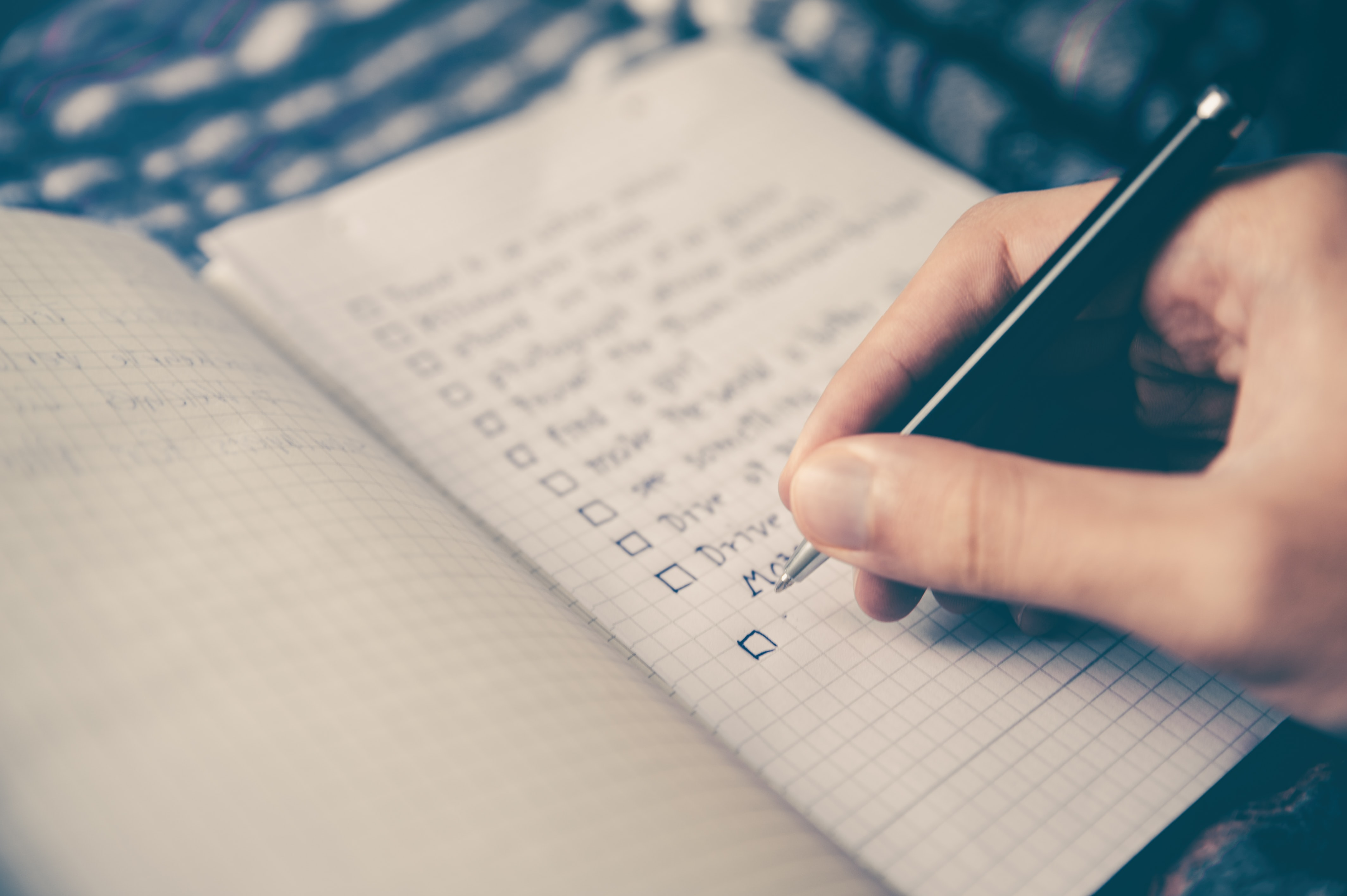 Creating a fundraising plan is as easy as ticking things off of this list.