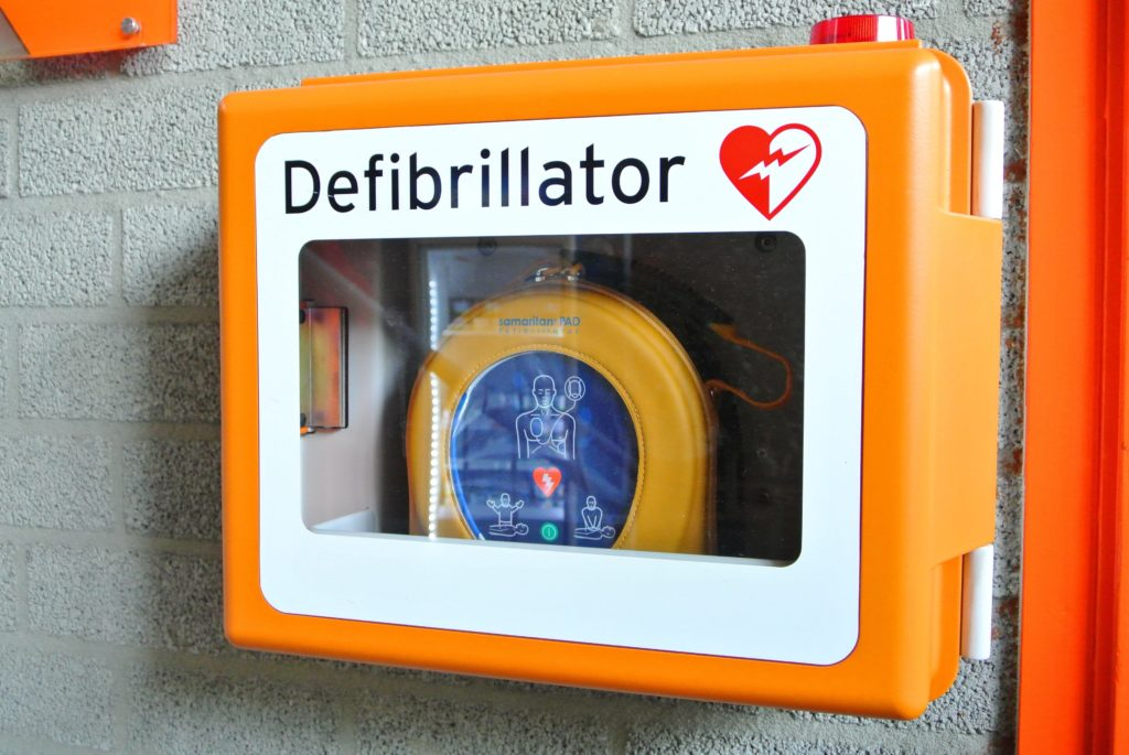 Defibrillator in a box