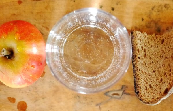 Apple, water and fruit