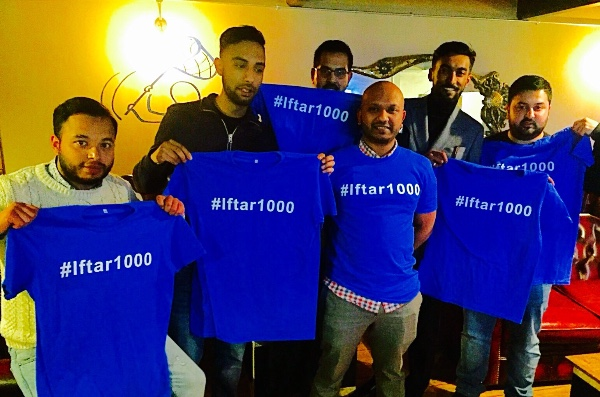 Iftar100 campaign