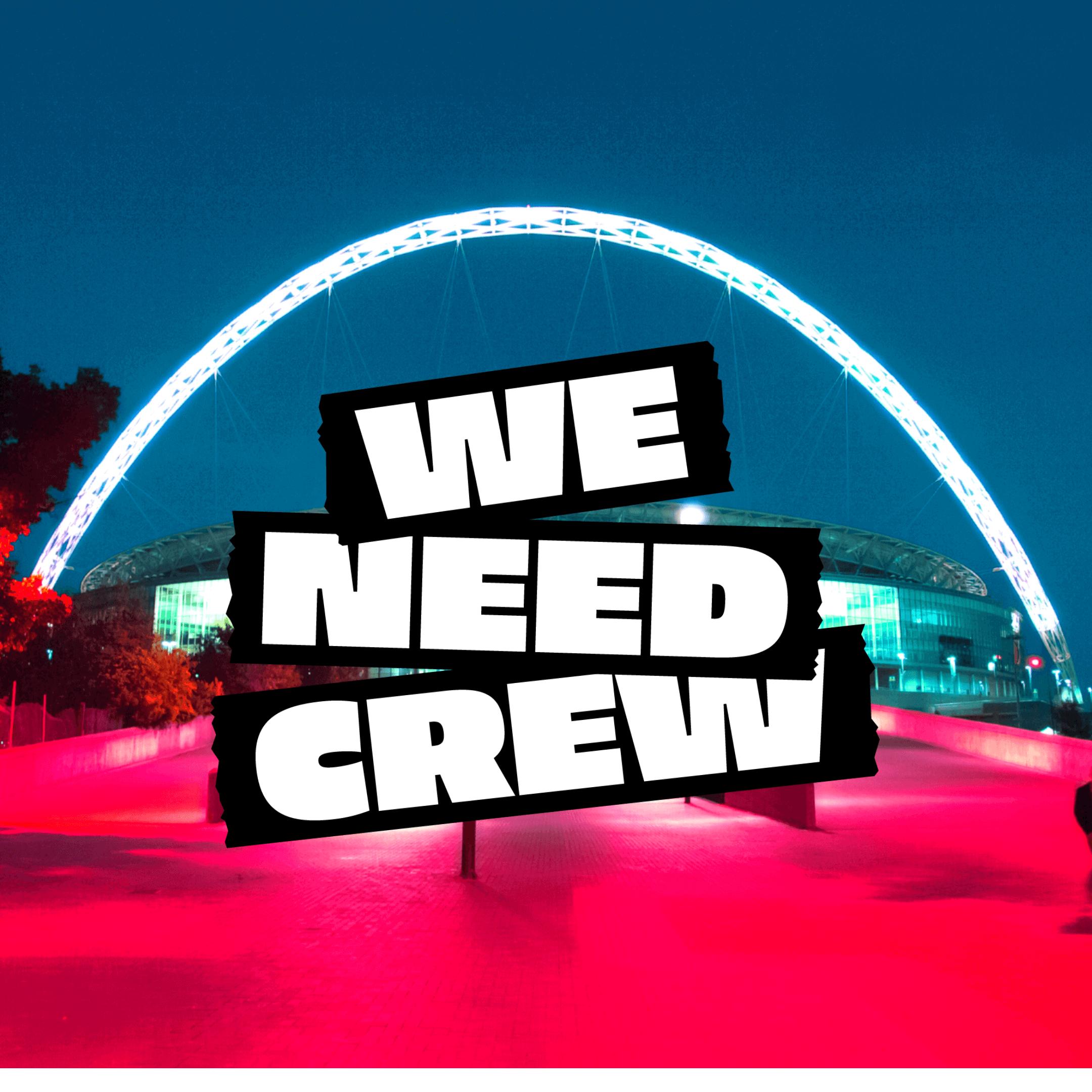 we need crew logo