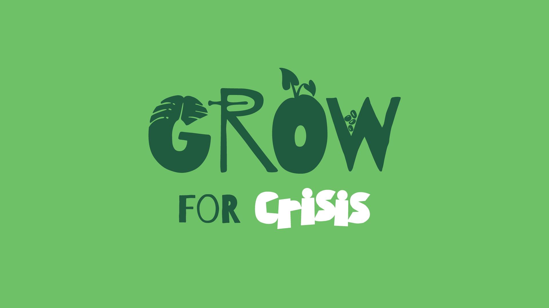 Grow for crisis logo